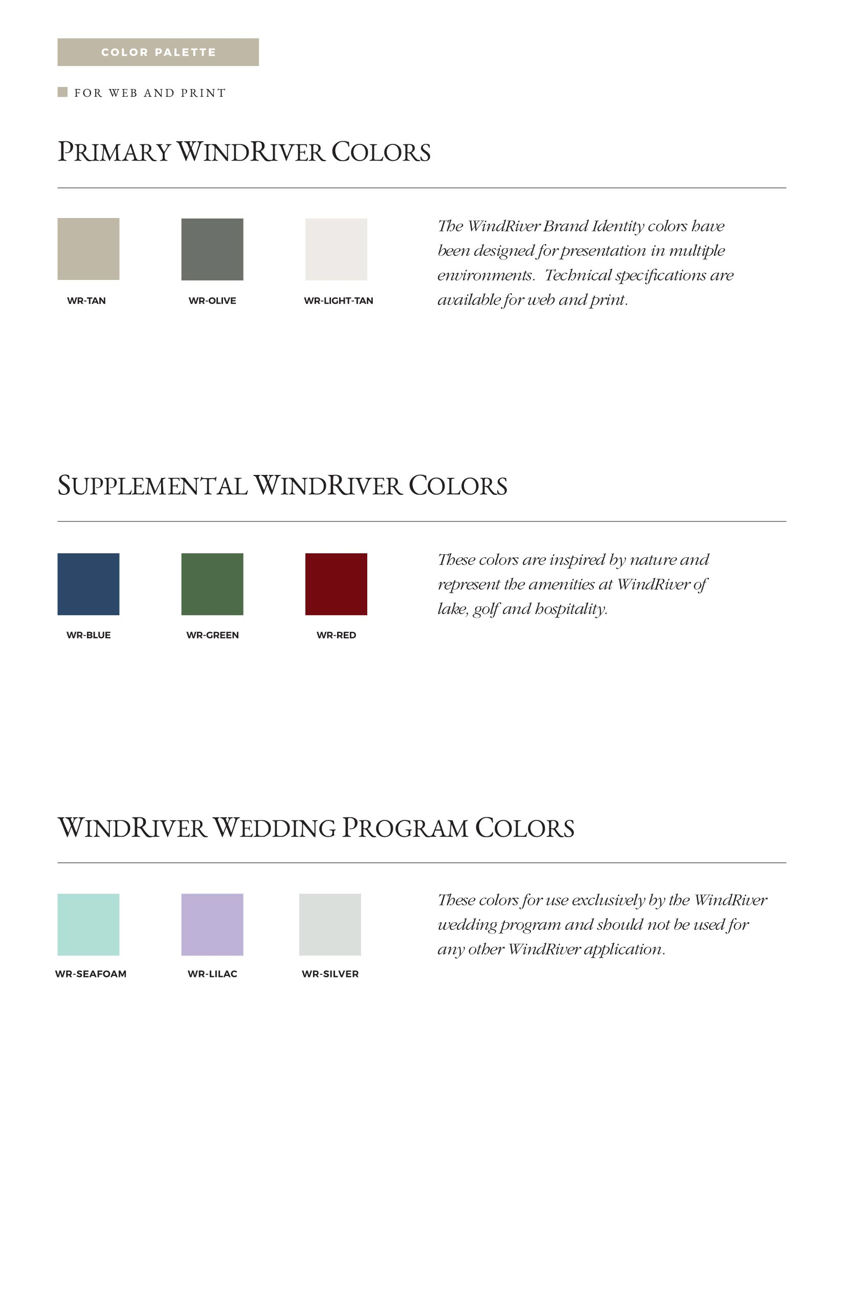 Windriver Brand Guide